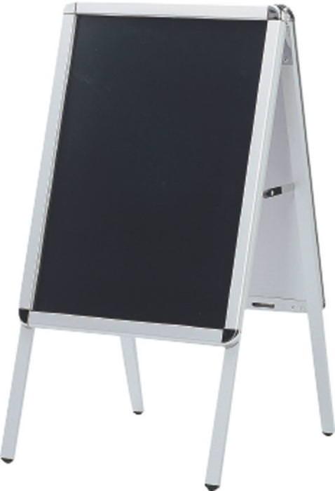 店舗備品 ブラックボード & ポスタースタンド (604280) 店頭サイン 業務用 日本製