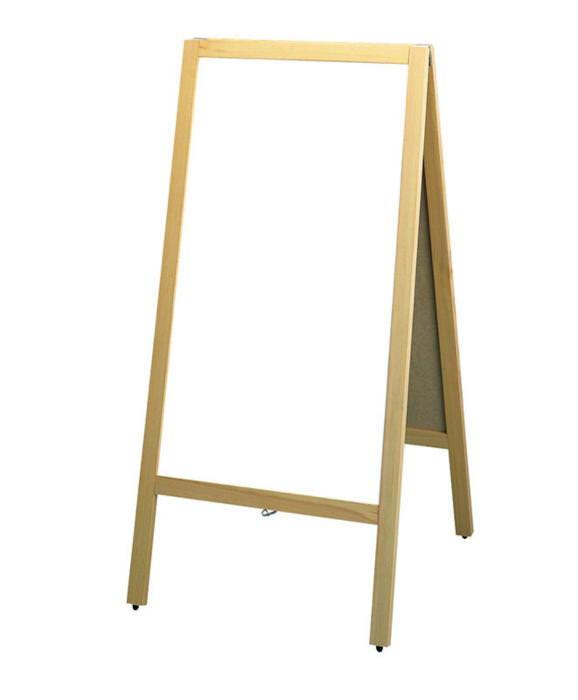 店舗備品 ・ 事務用品洋風タイフ゜ スタンド 黒板 (両面ホワイトボード) マグネット 対応 マーカー用 国産 日本製
