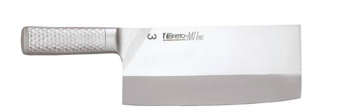 【お買い物マラソン クーポン付】 中華包丁 モリブデンバナジウム鋼 軽い 鋭い切れ味 Brieto-M1167 #7 国産 日本製