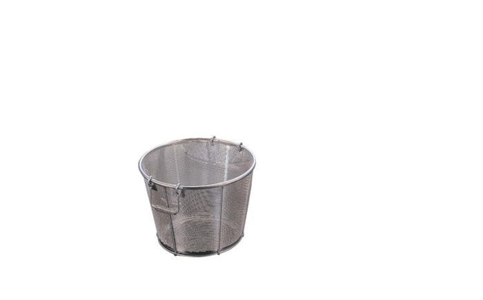 [お買い物マラソン 限定クーポン付] ザル ステンレス製 錆びにくい 衛生的 深型ざる パンチング 42cm 穴径φ2mm 把手A 国産 日本製