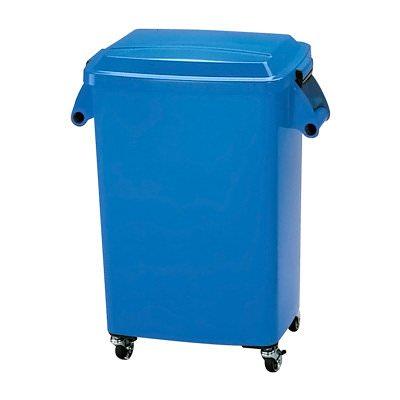 15%OFFクーポン有 厨房ペール プラスチック製 キャスター付 CK-45 ブルー 国産 日本製