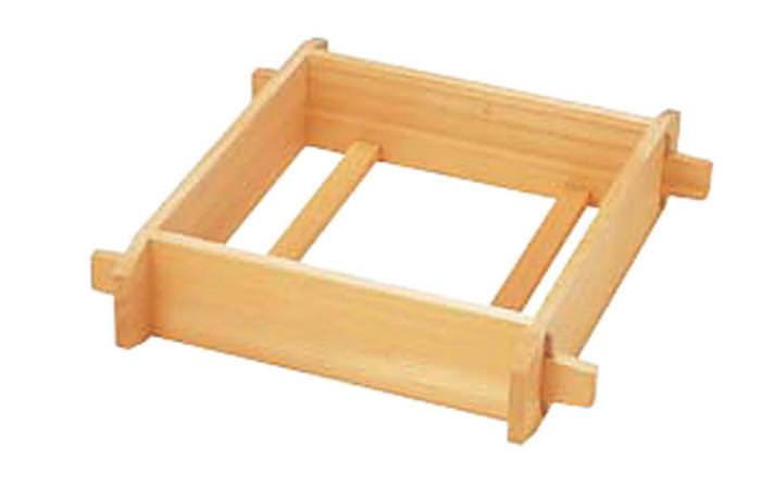[お買い物マラソン 限定クーポン付] セイロ 木製 蒸し器 おこわや赤飯に 木製角セイロ サワラ材 4寸 33cm 国産 日本製