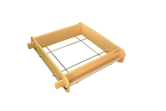 [お買い物マラソン 限定クーポン付] セイロ プラスチック製 削れにくい 高機能PC角セイロ 深口 45cm 国産 日本製