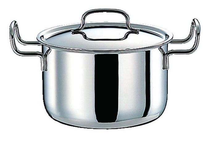 [まとめ買い 限定クーポン付] 鍋 ステンレス多層鍋 ジオ・プロダクト IH 対応 余熱調理 無水調理 ポトフ鍋 22cm 国産 日本製