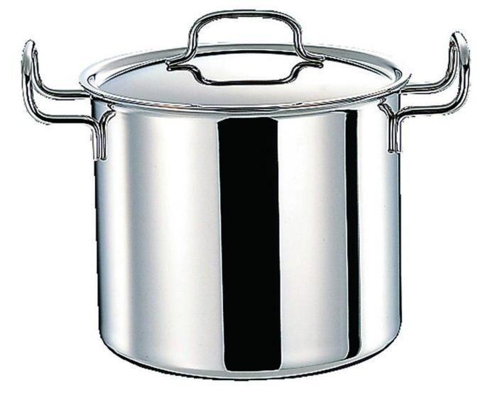 鍋 ステンレス多層鍋 ジオ・プロダクト IH 対応 余熱調理 無水調理 両手鍋 深型 21cm 国産 日本製