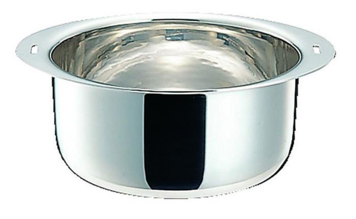 鍋 アルミ芯 3層鋼 IH 対応 十得鍋 ソースポット 22cm 国産 日本製