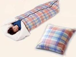 1枚5役の多目的羽毛シュラフ /寝袋