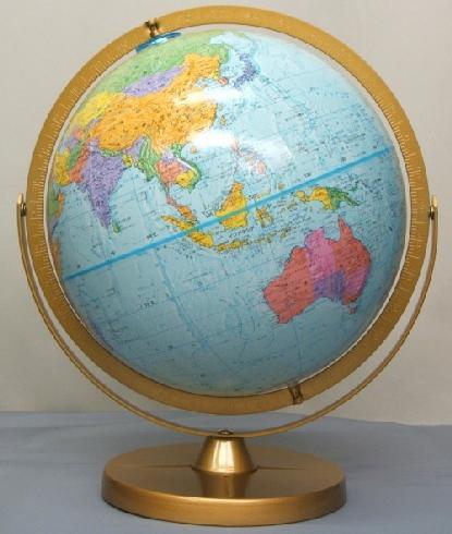 ★ルーペ プレゼント中!★リプルーグル チャレンジャー型地球儀(日本語版)/Replogle 30872