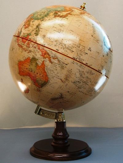 ★ルーペ プレゼント中!★リプルーグル クランブルック型 地球儀/Replogle 31470 31400