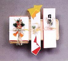 一条(略式) 婚礼・祝儀用品 結納三品 マルアイ