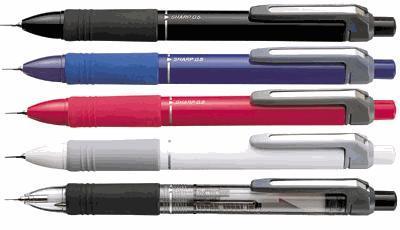 SK-シャーボプラスワン/ゼブラ SB5(油性ボールペン黒+赤+シャープペン)×50本より 名入れ無料