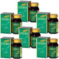 ライフダイヤ 6個ライフダイヤ(180粒)栄養機能食品(ビタミンA)栄養機能食品(ビタミンE) DHA EPA イチョウ葉エキス トマトリコピン第一薬品