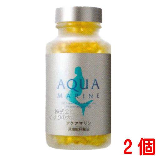 アクアマリン 100粒 2個深海鮫鮫肝油 鮫肝株式会社 マリンゴールド