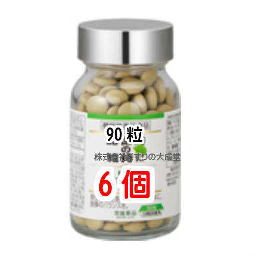 【あす楽対応】常盤薬品 トキワ イチョウ葉エキス粒 90粒 6個