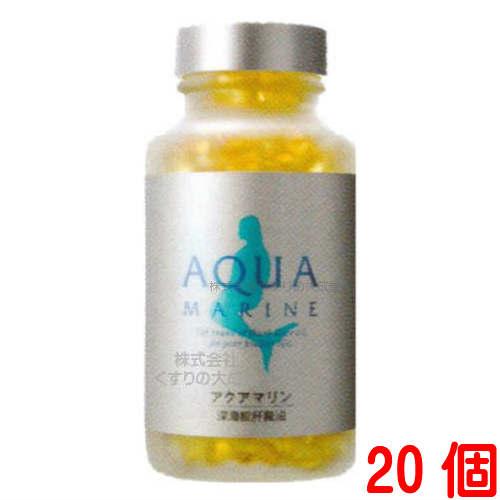 アクアマリン 360粒 20個 + 10粒 60個 深海鮫鮫肝油 鮫肝 株式会社 マリンゴールド