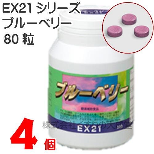 EX21シリーズ ブルーベリー 4個協和薬品