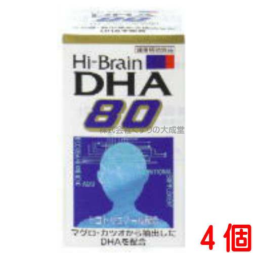 ハイブレーンDHA80 4個東亜薬品