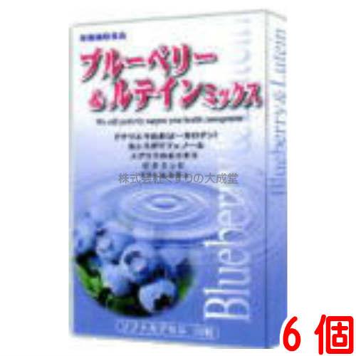 ブルーベリー ルテイン カシス メグスリの木 ブルーベリールテインミックス EPA 6個富山スカイ 格安 日本正規代理店品 DHA
