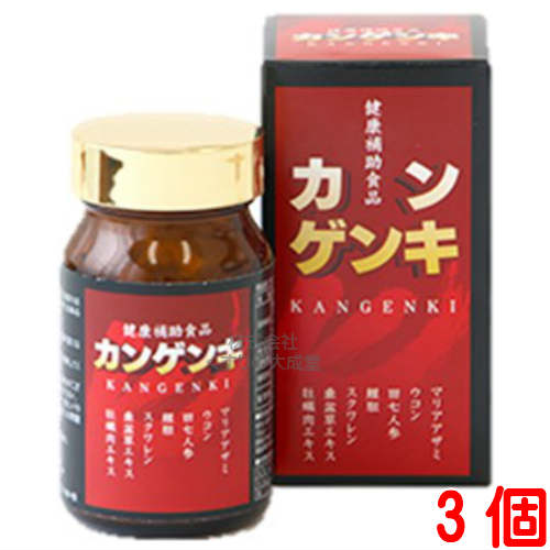 【あす楽対応】カンゲンキ 3個中部薬品, アライシ:bad635b6 --- officewill.xsrv.jp