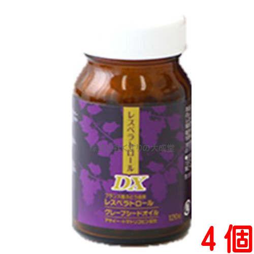 4個中部薬品 レスベラトロールDX