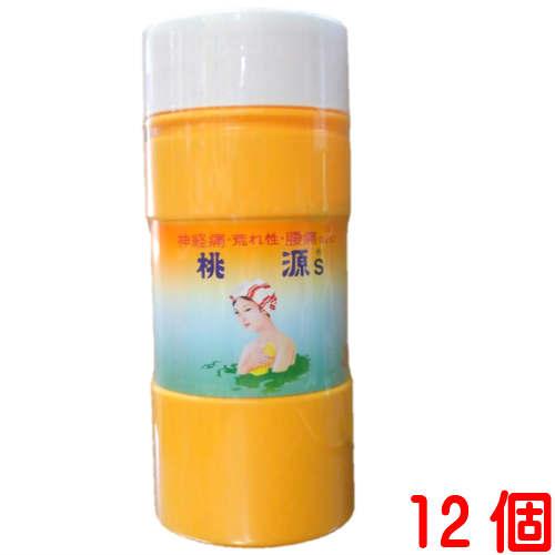 桃源S 桃の葉の精 1100g(オレンジ)12個とうげん 桃源S五州薬品医薬部外品