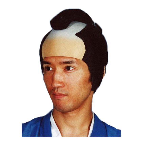 本格 侍 かつら【カツラ 時代劇 演劇 寸劇 仮装 コスプレ 武士 さむらい】マジックナイト OS23358