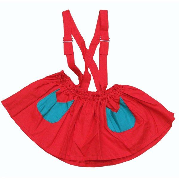 着ぐるみ用 スカート【本格着ぐるみ用 衣装 赤 ミニスカート 仮装 コスプレ ハロウィン イベント】マジックナイト OS10402