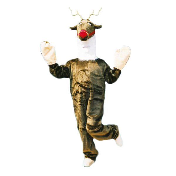 着ぐるみ トナカイ スーツ【お取寄せ対応 納期:受注後4日-3週間 大人用 動物 となかい 赤鼻 ルドルフ 仮装 コスプレ ハロウィン クリスマス イベント】送料無料 マジックナイト OS10549