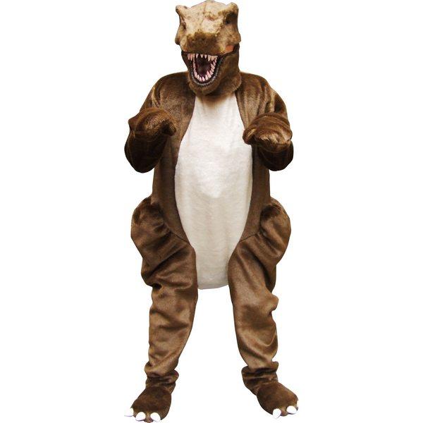 着ぐるみ T-REXスーツ 恐竜【お取寄せ対応 納期:受注後4日-3週間 大人用 動物 ティラノサウルス 仮装 コスプレ ハロウィン イベント】大型荷物 ヤマト一般便利用 送料無料 マジックナイト OS53294