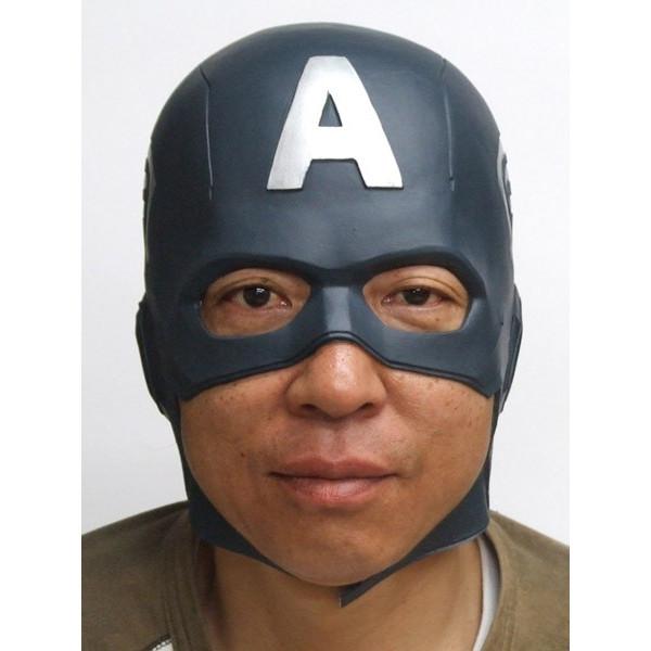 キャプテンアメリカ なりきりマスク【マーベル アベンジャー ラバーマスク キャプテンアメリカ グッズ】マジックナイト OS54987