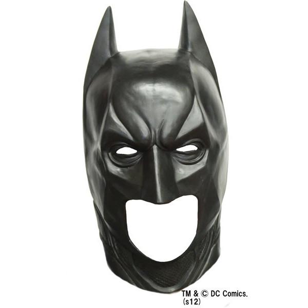 バットマン スーパーラテックス マスク【ダークナイトライジング マスク ラバーマスク 被り物 かぶりもの コスプレ 仮装 グッズ】マジックナイト OS56080