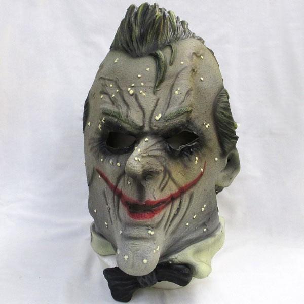 ジョーカー マスク バットマンアーカム版【マスク ラバーマスク 被り物 かぶりもの ホラー 仮装 グッズ】マジックナイト RB68470