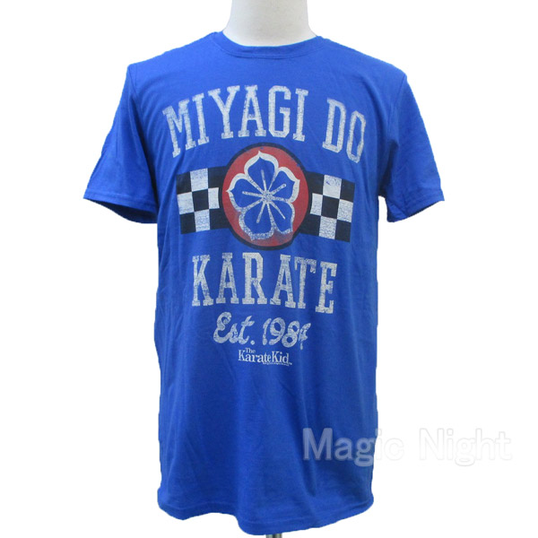 Karate Kid Daniel Larusso All Valley Champ Adult T Shirt Great Classic Movie