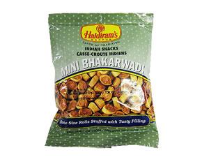 Haldiram (haldiram) 迷你 BHAKARWADI minivaccalvadi 150 g