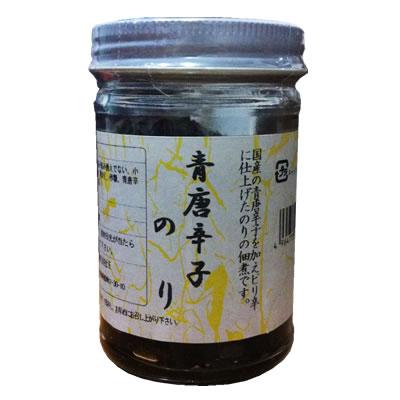 国産の青唐辛子を加えたピリ辛の海苔の佃煮 遠忠食品 格安 価格でご提供いたします 140g (訳ありセール 格安) 青唐辛子のり