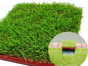 Cybashiba natural turf mat (Korai-Shiba) you set 5 piece