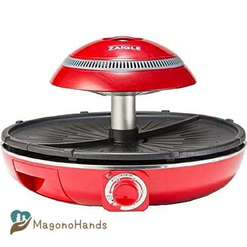ZAIGLE(ザイグル) 焼肉グリル ザイグルプラス 煙の出にくい卓上グリル | ホットプレート 焼き肉プレート