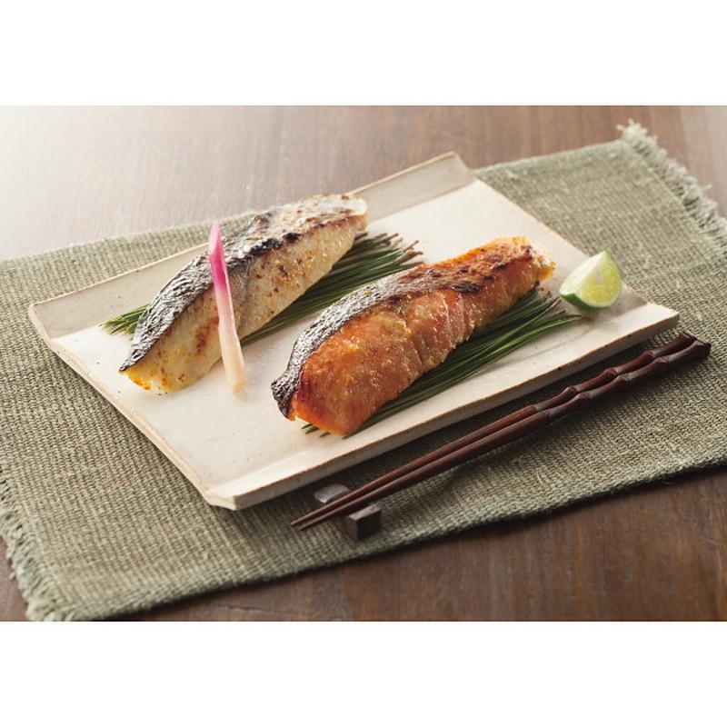 西京味噌に72時間以上漬込み味を魚に馴染ませました 公式ストア 築地吟海 漬魚詰合せ 8切 メーカー指定熨斗 メーカー直送品 送料無料 B‐8 直送商品