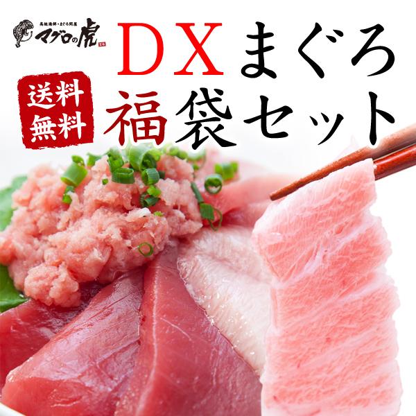 福袋 海鮮セット DXマグロ福袋セット 国産 福袋 贈り物に まぐろ 海鮮丼 お取り寄せグルメ 鮪 刺身