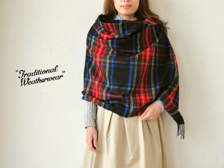 Traditional Weatherwear (トラディショナルウェザーウェア) BLANKET MUFFLER 【2014F/W】 ブランケットマフラー