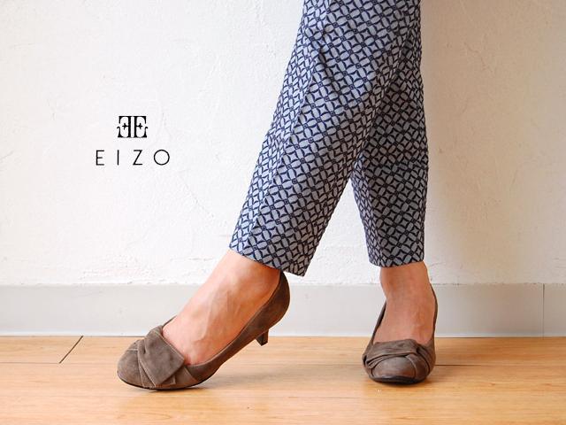 EIZO スウェード デザインパンプス