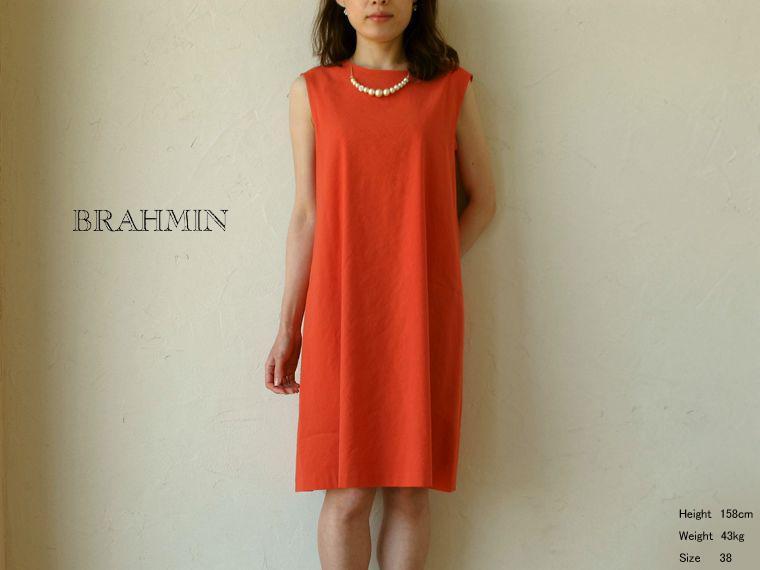 《 SALE 》Brahmin (ブラーミン) L/Rソフトストレッチ ノースリーブワンピース
