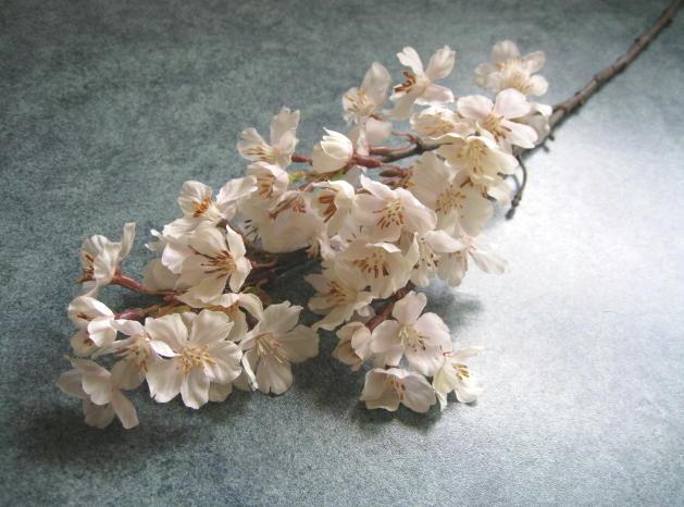 新商品 新型 花材 造花 淡雪の桜 満開 激安卸販売新品 小1本