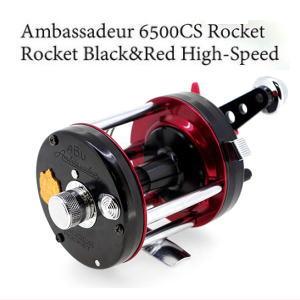 アブガルシア Ambassadeur 6500CS Rocket Black&Red High-Speed