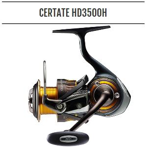 ダイワ 16セルテートHD3500H Daiwa CERTATE HD