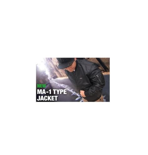 【エバーグリーン】B-TRUE MA-1タイプジャケット