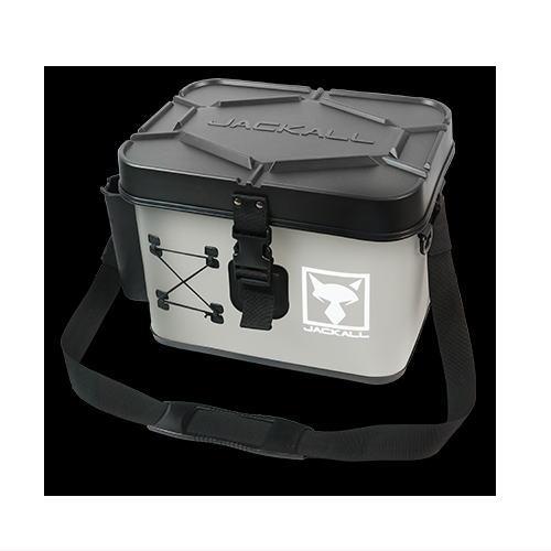 1着でも送料無料 2021 NEWカラー ジャッカル タックルコンテナ 買取 ショアゲームモデル ブラック グレー