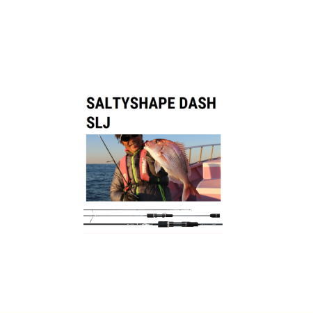 テイルウォーク ソルティシェイプダッシュ スーパーライトジギング【S6300】Tailwalk SALTYSHAPE DASH SLJ