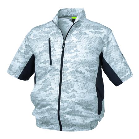 ジーベック 空調服 迷彩半袖ブルゾン XE98006, 宇陀郡 398c6f14