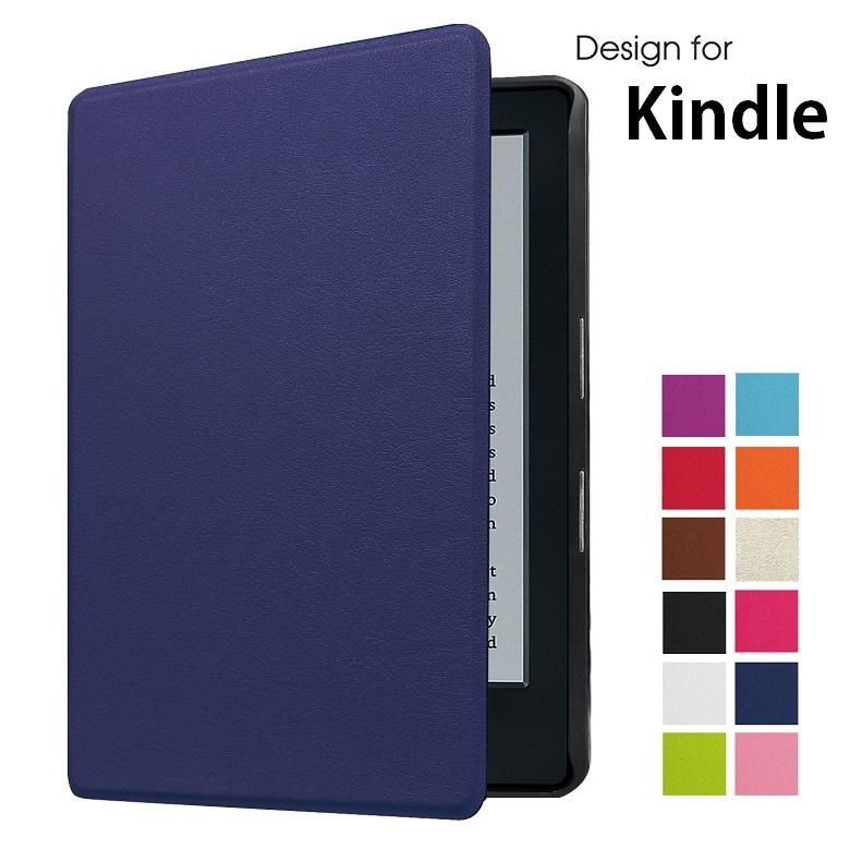 カバーやサイドマグネット吸着によりしっかり閉じることができます NEW Kindle 第10世代 2019 6インチ 第8世代 2016 Paperwhite 2018 選択 PU革 スマート ブックタイプ ホワイト ケース ネイビー 期間限定今なら送料無料 ローズ ブラウン カバー 手帳型 ブラック 有名な 7色選択 ピンク ゴールド
